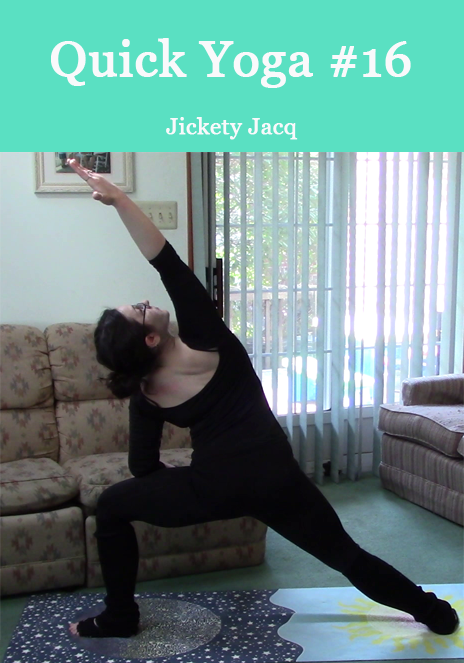 Quick Yoga Stretch 16 Jickety Jacq